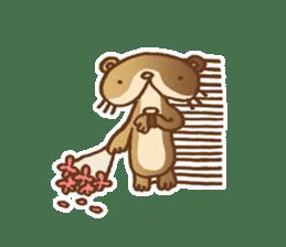 Otter-kun! sticker #210687