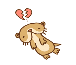 Otter-kun! sticker #210690