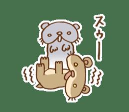 Otter-kun! sticker #210692