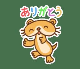 Otter-kun! sticker #210701