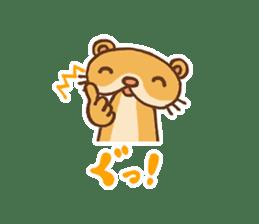 Otter-kun! sticker #210703