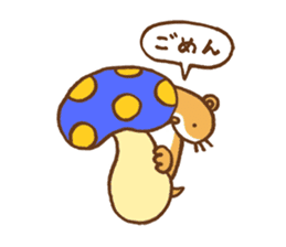 Otter-kun! sticker #210706