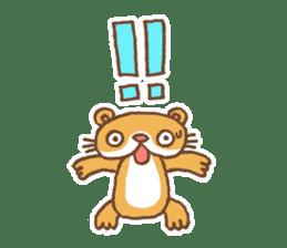 Otter-kun! sticker #210711
