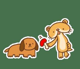 Otter-kun! sticker #210713
