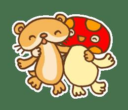 Otter-kun! sticker #210714