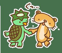 Otter-kun! sticker #210715