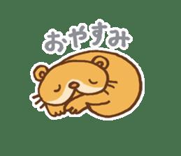 Otter-kun! sticker #210716