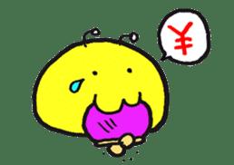 Omanju-no-Obake sticker #211393