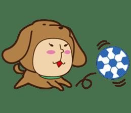 KIGURUMI ZOO sticker #211839