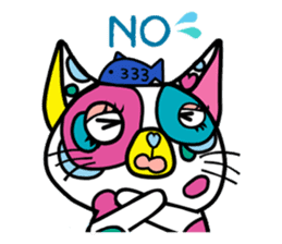 Rainbow color Days of Nekotan sticker #212898