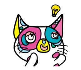 Rainbow color Days of Nekotan sticker #212918