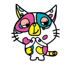 Rainbow color Days of Nekotan sticker #212926