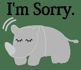 Animals -Funny Zoo- English Version sticker #213939