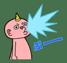 """Japanese monster """"ONITA """" sticker #214263"""