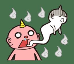 """Japanese monster """"ONITA """" sticker #214268"""