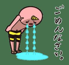 """Japanese monster """"ONITA """" sticker #214270"""