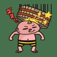 """Japanese monster """"ONITA """" sticker #214280"""