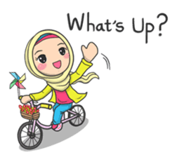 Flower  Hijab sticker #214293
