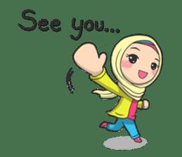 Flower  Hijab sticker #214294
