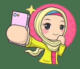 Flower  Hijab sticker #214296