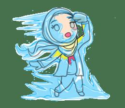 Flower  Hijab sticker #214297