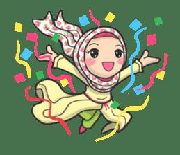 Flower  Hijab sticker #214305