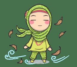 Flower  Hijab sticker #214307