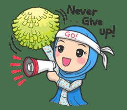 Flower  Hijab sticker #214312
