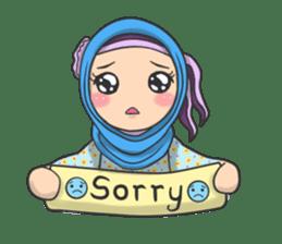 Flower  Hijab sticker #214313