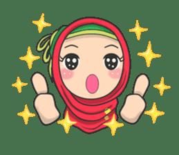 Flower  Hijab sticker #214319