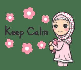 Flower  Hijab sticker #214327