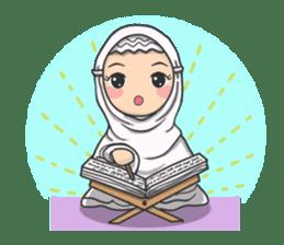 Flower  Hijab sticker #214328