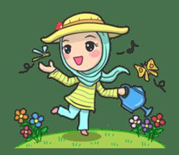 Flower  Hijab sticker #214332