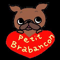 Petit Brabancon stamp