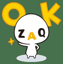 ZAQ sticker #215094