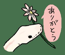 Python with Japanese message sticker #215135