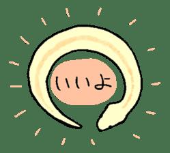 Python with Japanese message sticker #215136