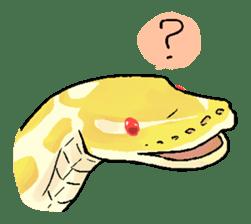 Python with Japanese message sticker #215139