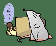 Python with Japanese message sticker #215146