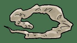 Python with Japanese message sticker #215148