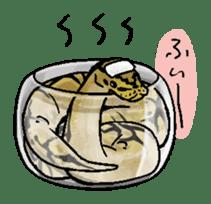 Python with Japanese message sticker #215149