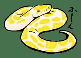 Python with Japanese message sticker #215158