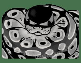 Python with Japanese message sticker #215163