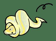 Python with Japanese message sticker #215171
