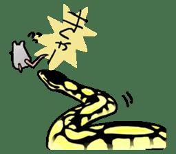Python with Japanese message sticker #215172