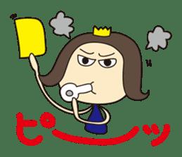 Nanana Princess sticker #215318