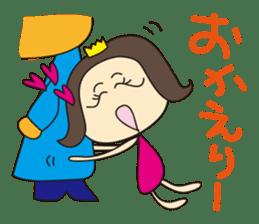Nanana Princess sticker #215325