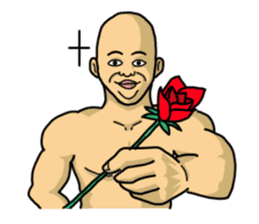 Physial Beauty!! Nikuo's Muscle Life!! sticker #215709