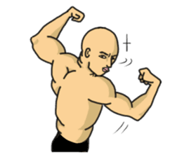 Physial Beauty!! Nikuo's Muscle Life!! sticker #215716