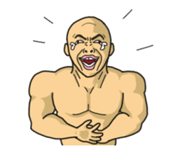 Physial Beauty!! Nikuo's Muscle Life!! sticker #215718